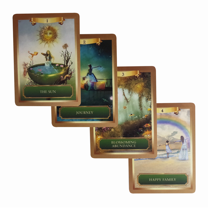 2019 New Mysterious Energy & Power Oracle Cards Deck English Tarot Cards  For Women Board Game 53 Cards/set