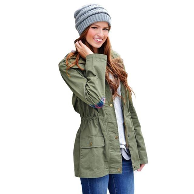 Para mujer de Manga Larga Con Cremallera Con Capucha chaqueta cazadora Cintura contracción Decor Loose Tops Camisetas Blusa