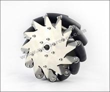 203 мм для тяжелых условий эксплуатации mecanum колесо слева с резиновыми Rollers14149