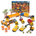 Niño niños juguetes de construcción juguetes Diecast metal coche ingeniería vehículos construcción excavadora bulldozer juguetes Diecast coche modelo