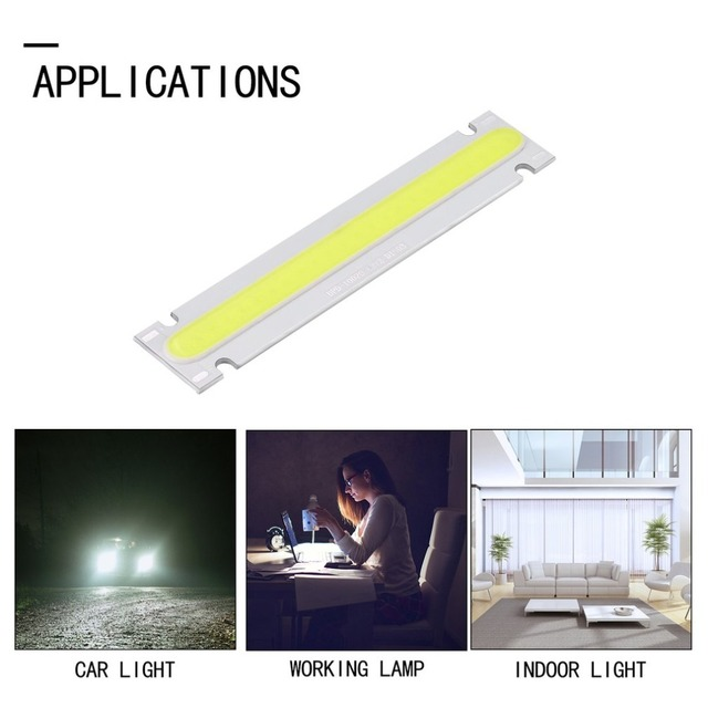 ICOCO 12V 5W Light Strip 150x26mm COB LED Module Warm Cold White Colors Optional Lamp
