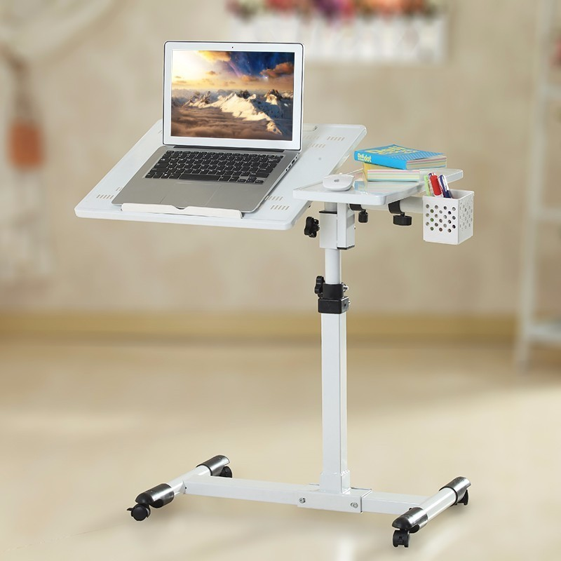 BSDT hh# Ya Qi resistant notebook desk 360 degrees rotation lazy bedside lifting comter table FREE SHIPPING bsdt and one hundred million to reach the notebook comter office desktop home simple mobile learning desk free shipping