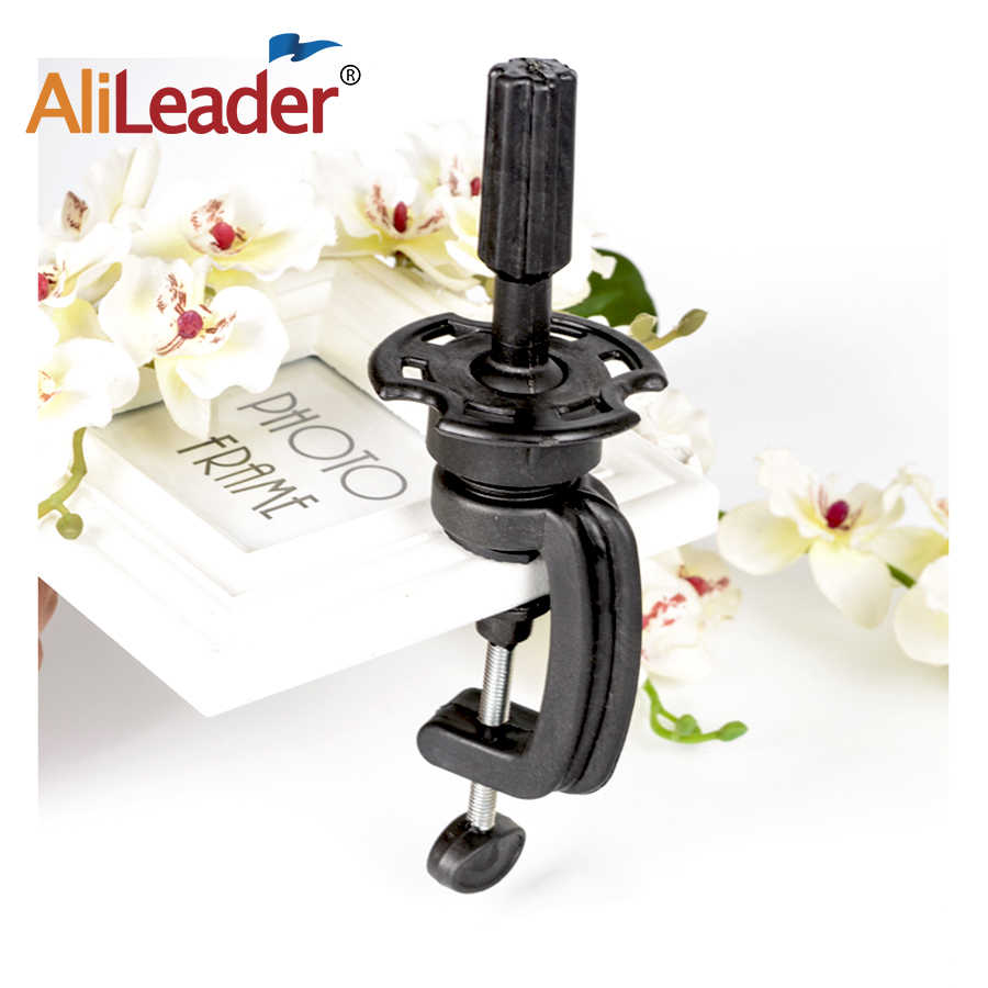 Adjustable Head Wig Holder Stand Desk Table Clamp For Mannequin Head Manik Hair Training Model Hairdressers Salon Styling Tools