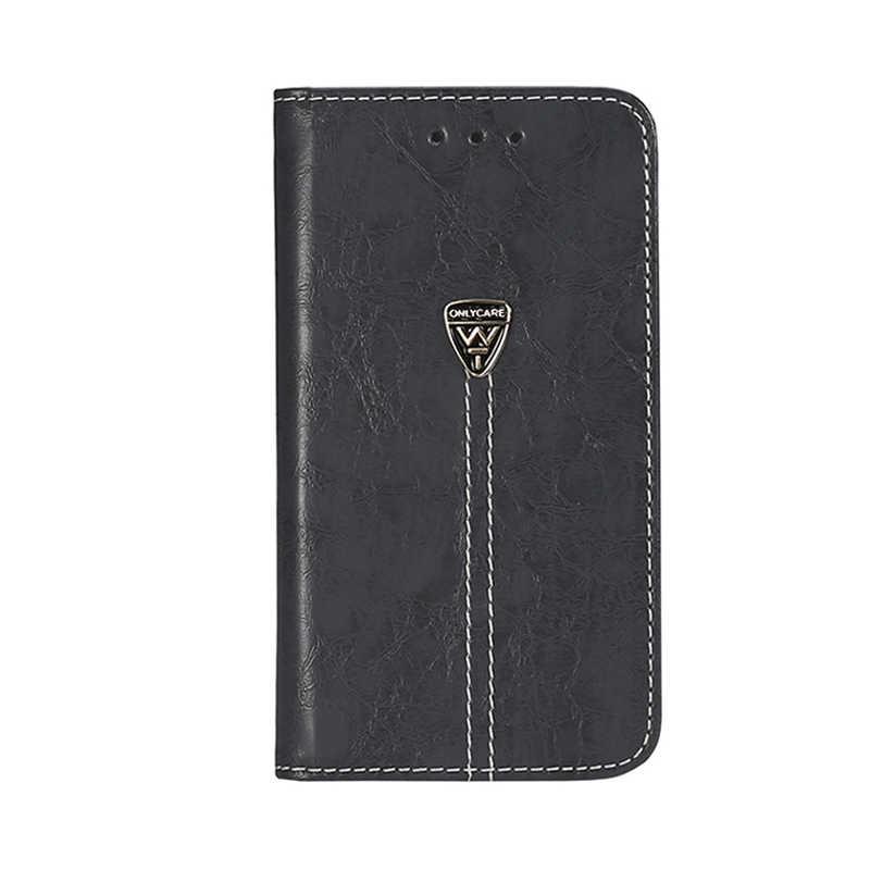 Vintage Wallet Case voor Vertex Impress Dune 5.0 inch PU Leer Klassieke Boek Flip Cover Magnetische Mode Gevallen