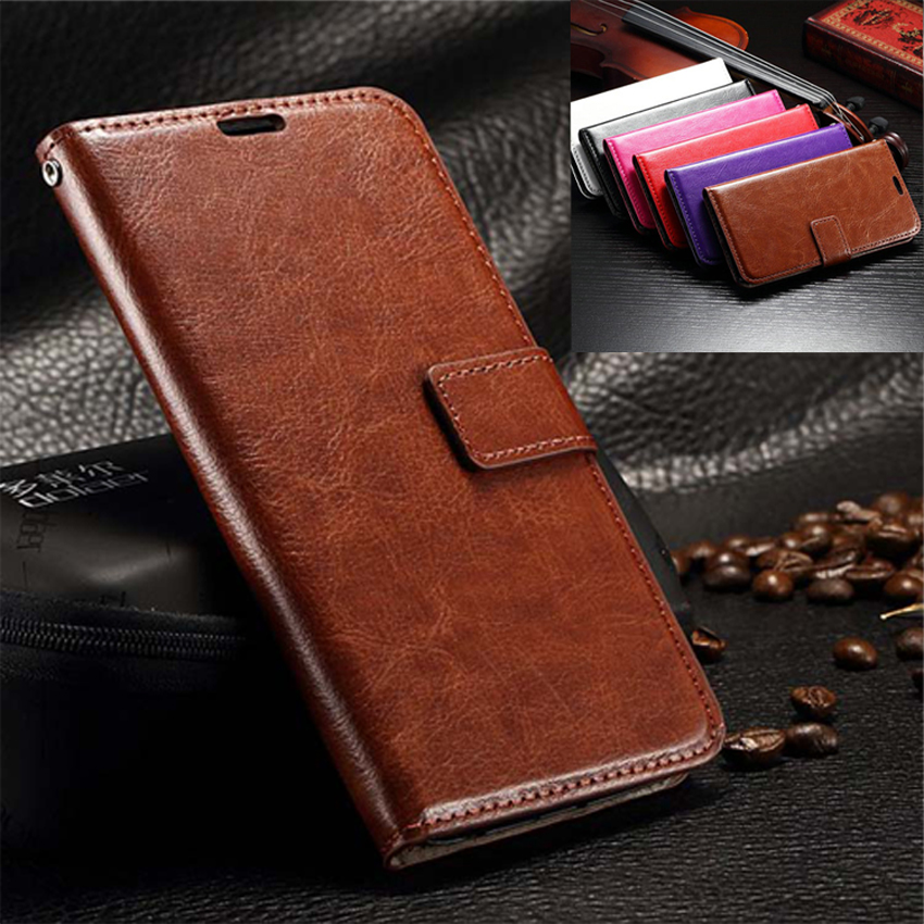 S6 Case Luxury Retro Leather Wallet Flip Cover Case For Samsung Galaxy S6 Edge S 6 Plus Photo Frame Stand Samsung S6 Phone Case