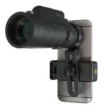 Универсальный 35×50 зум HD оптический Монокуляр телескоп Телефон объектив наблюдения обзор Кемпинг телескоп с зажимом для смартфонов