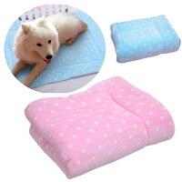 SUYI pet matten für hunde katzen in haus decke Flanell Super bequem rosa blau
