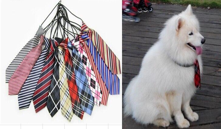 50pc lot 2019 Large Dog Neckties For Big Pet Dogs Ties Grooming Ties Dog Supplies Neckties