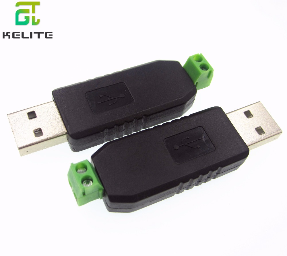 1pcs USB to RS485 485 Converter Adapter Support Win7 XP Vista Linux Mac OS new in stock