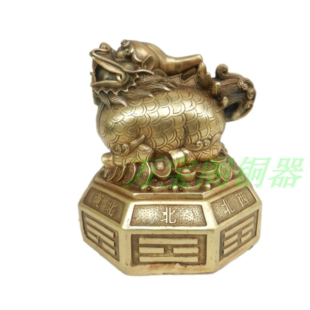Copper pi xiu decoration lucky evil spiritsCopper pi xiu decoration lucky evil spirits