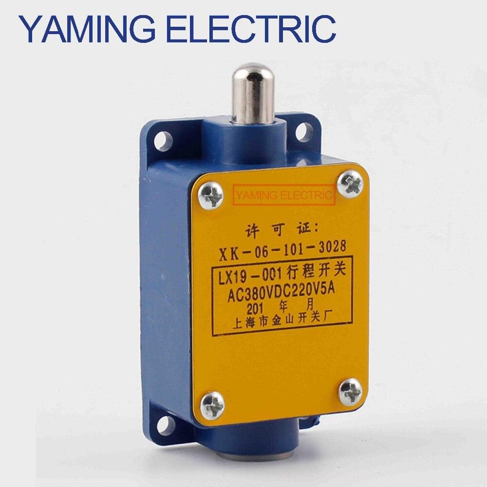 P158 LX19 LX19-001 5A AC380V DC220V Momentary Interruptor de Limite do elevador elevador Mini Curso Diretamente o interruptor Tipo de Ação