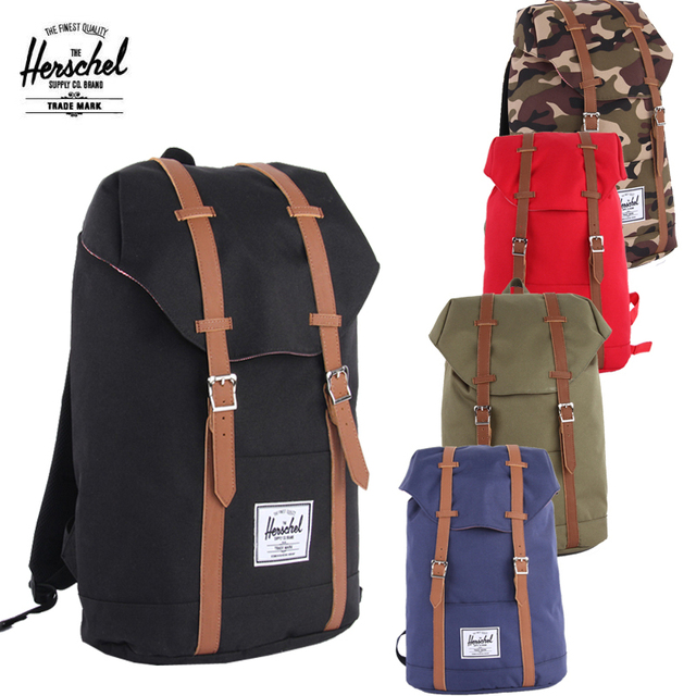 Top brand bag new style fashion backpacks herschel backpack retreat backpack  man s travel bags lady s fashion backpacks
