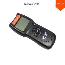 الترويج!!! OBD CANSCAN D90 أداة العيش بم بيانات KWP2000/PWM/VPW OBD2 فحص محرك السيارة مع متعدد سيارات D900 OBD2 رمز الماسح الضوئي