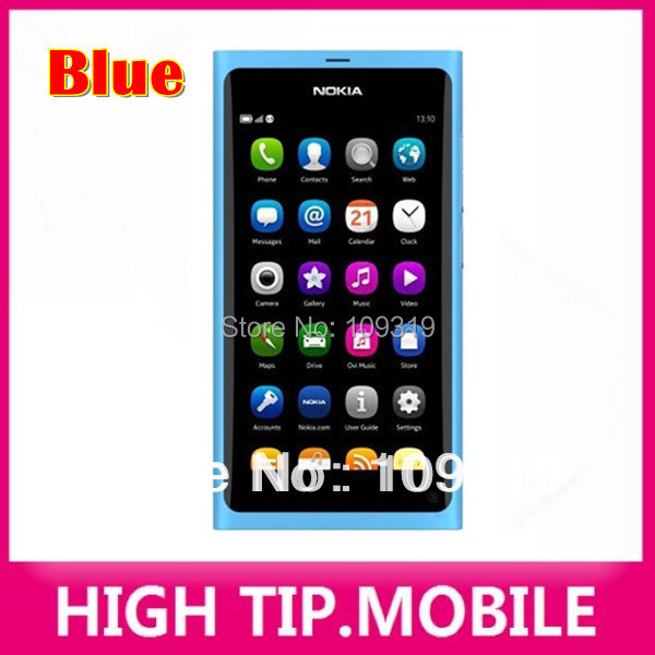 Разблокированный Nokia N9 GSM сенсорный экран сотовый телефон 3G WIFI 8MP камера мобильный телефон Восстановленный 1 год гарантии