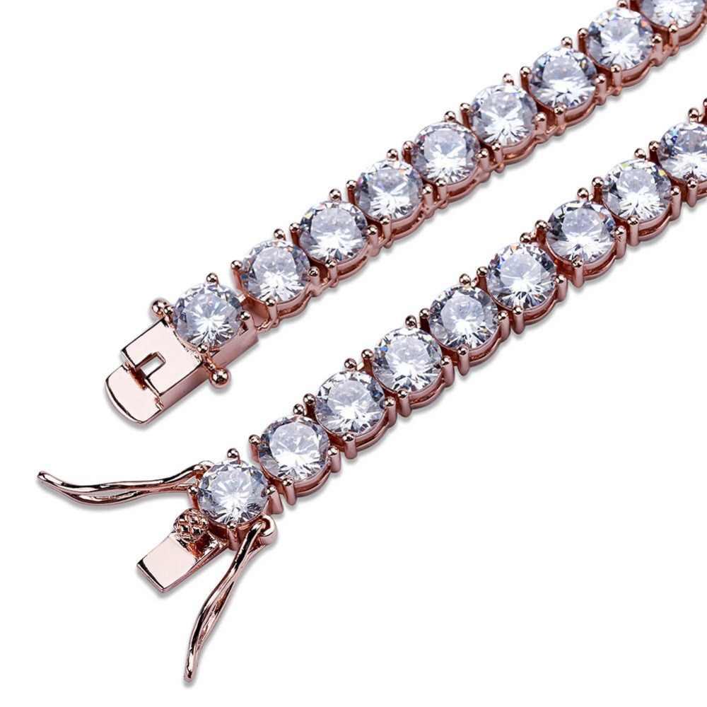 652a51bca4e0c MISSFOX Hiphop Male Tennis Bracelet Tri-Color 6mm Men Luxury Brand Jewelry  Big Diamond Copper Material 18K Gold Plated Bracelet