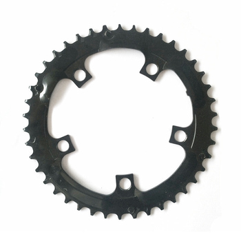 34/42/52T אופניים חשמליים אופני E-אופני שרשרת טבעת גלגל אביזרי עבור Tongsheng TSDZ2 אמצע -כונן מנוע שחור עמיד אבזר