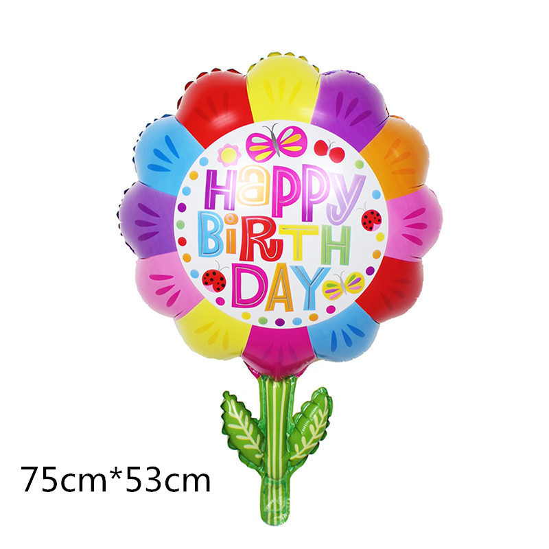 Taoqueen Cartoon Hat Large Size  Foil Balloon Cartoon Wedding Birthday Party Decoration Inflatable Air Balloon