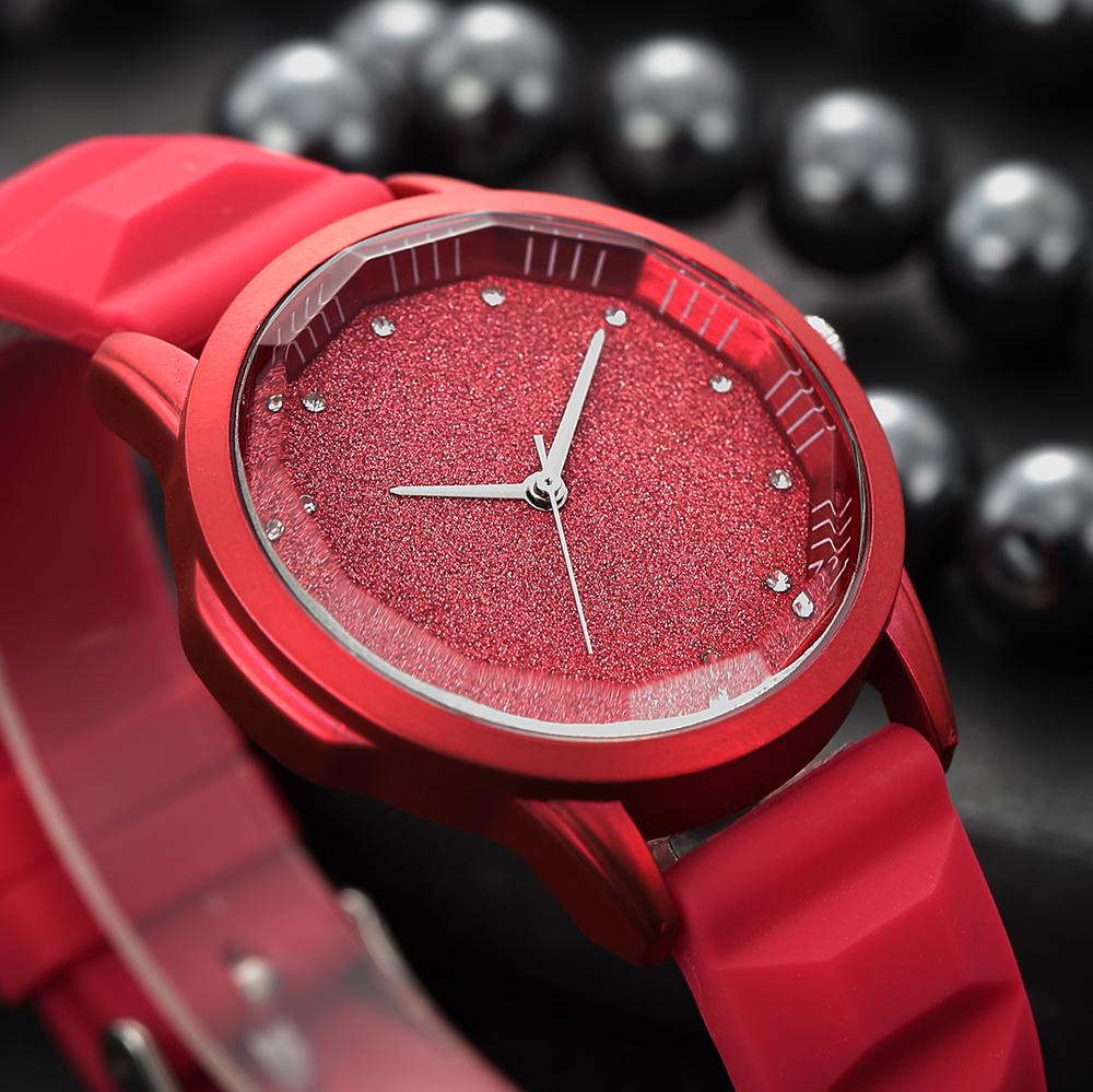 9da8d489930 Novo Renascimento vermelho senhoras relógios Moda Casual relógios de pulso relógio  de quartzo ladies Luxury design