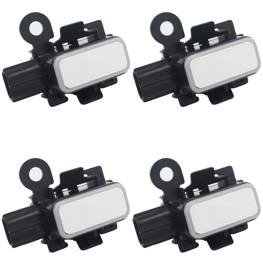 New 4PCS 89341-44150-A2 89341-44150-A2 89341-44150 8934144150 Bumper PDC Parking Aid Distance Sensor Fit for Lexus GS350 GS430 цена 2017