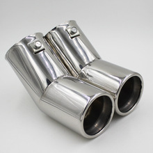 Automobile Exhaust Tip Tail Pipe Muffler for 2002-2007 Volkswagen old Bora Golf 4 Beetle