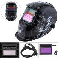 Stepless Adjust Solar Auto Darkening TIG MIG Grinding Welding Helmets Face Mask Electric Welding Mask Cap