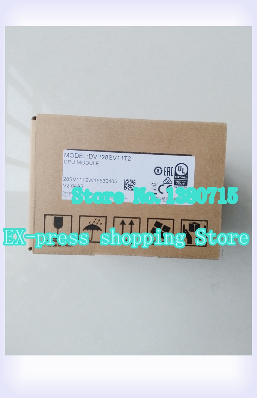 New Original DVP28SV11T2 DVP28SV11R2 DVPEN01-SL PLC Boxed