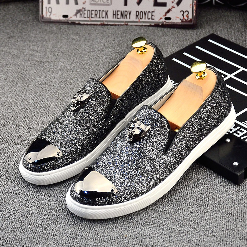 ФОТО Spring Peas shoes men's  to help low tide shoes casual shoes loafers men set foot lazy shoes British personality