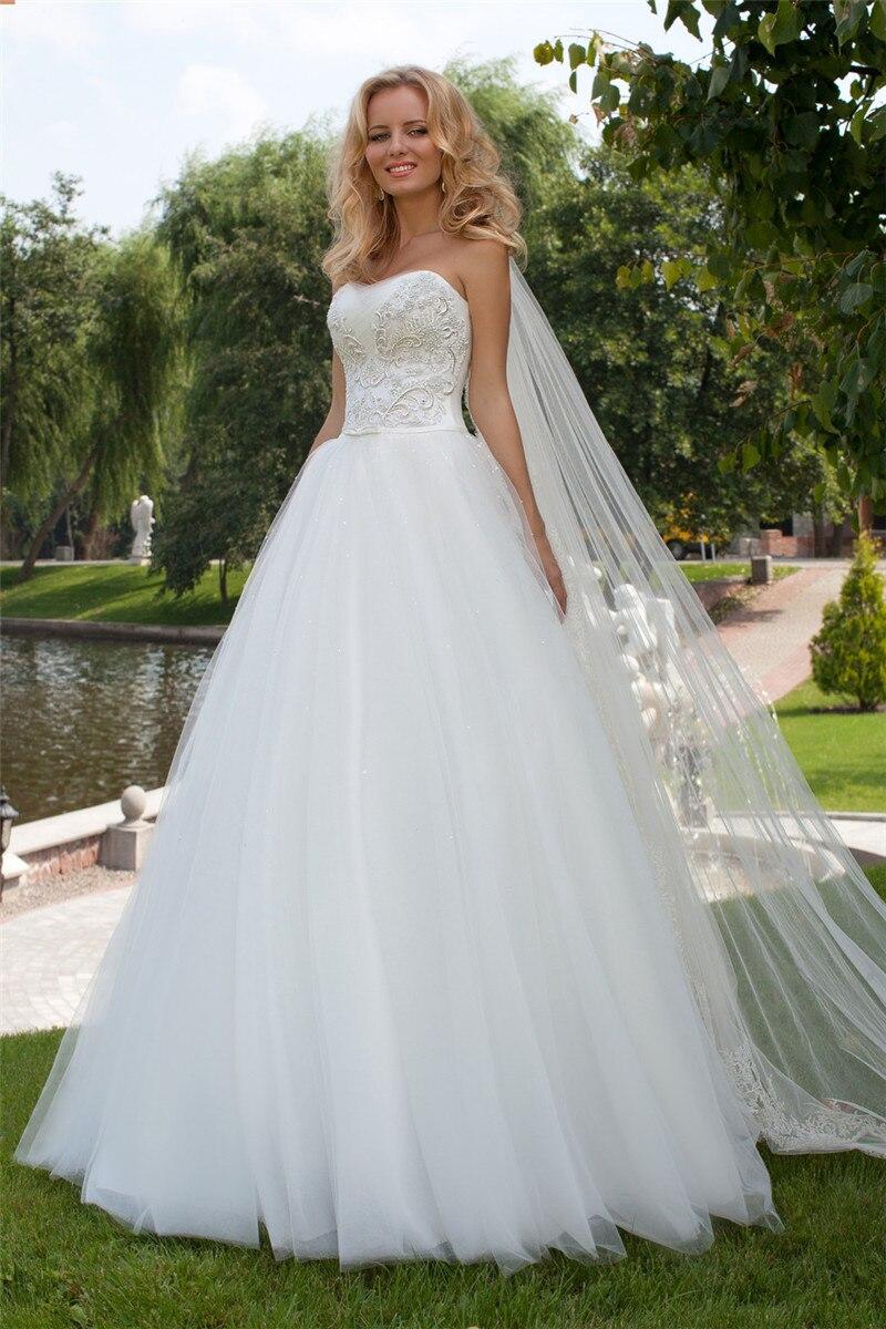 Vintage Schulterfrei Brautkleider Elegante Eine Linie Pailletten