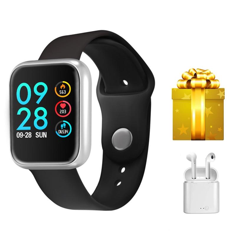 fitness tracker smartwatch+Bluetooth earphone/set IP68 activity tracker pressure measurement watch VS Z40 Smart band for iphone