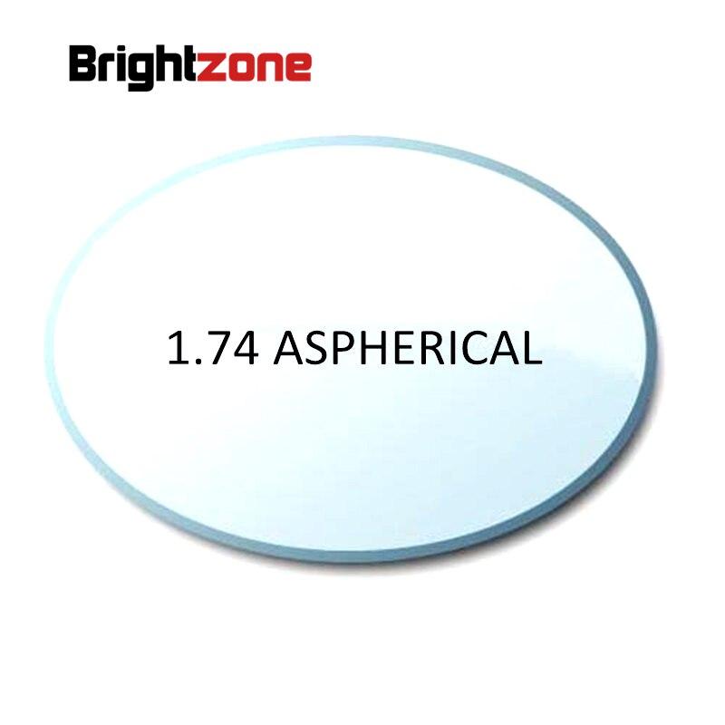 Filling a prescription 1 74 superthin aspheric HC HMC CR 39 resin eyeglasses prescription lenses for