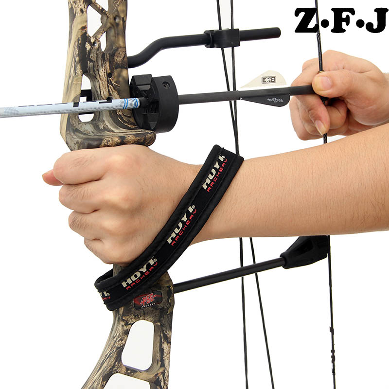 Sporting Goods Compound Bow Wrist Sling Colors Are Neon Green And Black Outdoor Sports