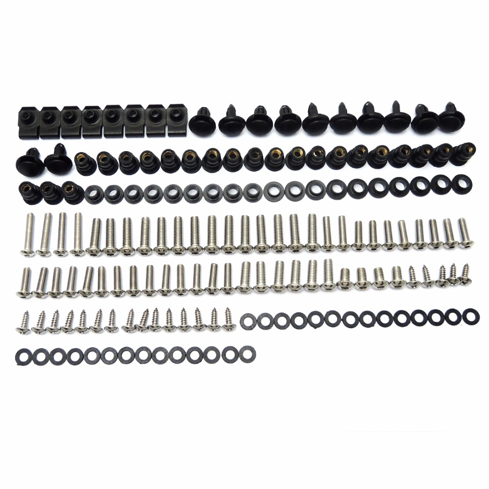 Complete Fairing Bolt Nut Screw Kit For HONDA CBR600RR CBR 600 RR CBR 600RR 2007 2008 2009 2010 Fairing Bolt Screws Accessories hot sales 2007 2008 cbr600 fairing for honda cbr600rr f5 cbr 600 cbr 600rr 07 08 cbr 600 repsol fairing kit injection molding