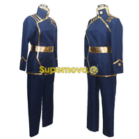 Supernova 07 Ghost Military Academy Uniform Ayanami Barsburg Empire Uniform Cosplay Costume Anime Costume Cosplay For
