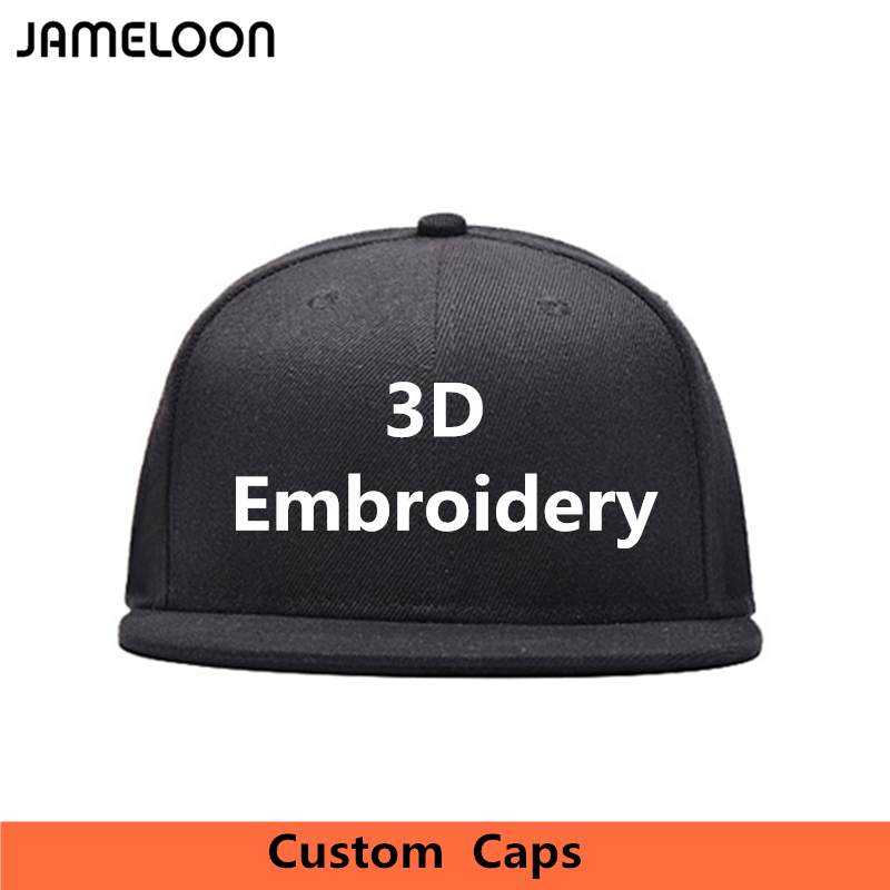 b36f42b420a Hot Customized Acrylic Baseball Snapback Caps Own Design LOGO Embroidery  Text Fitted Bone Casquette Hat For