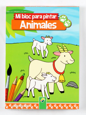baby color painting books childrens drawing books about animals 6 books in all baby learn to drawing animals in books from office school supplies on - Children Drawing Books