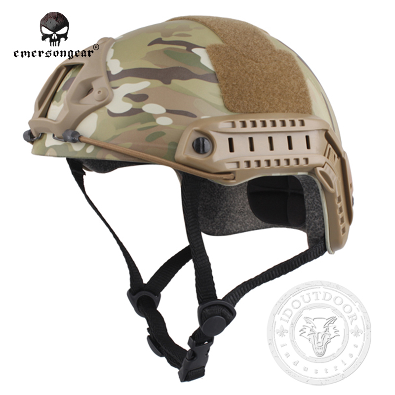 ФОТО Emersongear FAST Helmet MH Type Economy Version Protective Emerson   Hunting Military Pararescue EM8812D MultiCam MC