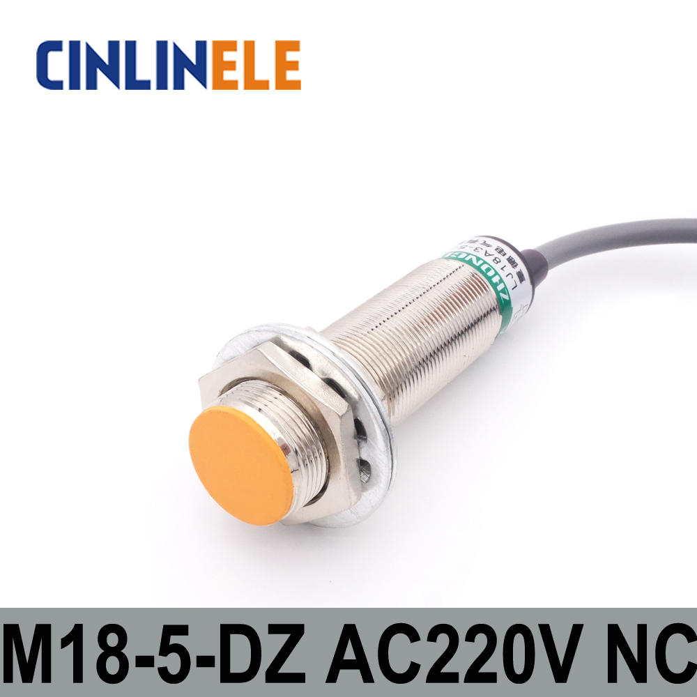 M18 Lj18a3 5 J Dz 5mm Induction Ac 2 Wire Nc Metal Sensor Npn 3wire In This Case You Would Just Connect The Brown Inductive Proximity Switch Screen Shield Type Lj8a3