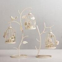 Marokkanischen Stil Candle stick Kerzenhalter Weinlese-tee-licht Kerzenhalter Hohl Vogelkäfig Leuchter Hochzeit Dekor Geschenke