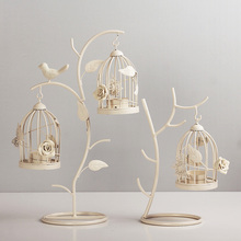 Mousse decoration fashion branches bird cage mousse candle home iron