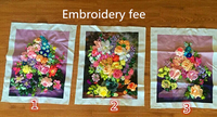 Embroidery for customer,Embroidery service
