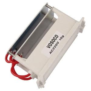 Image 5 - Générateur dozone 220V 10g intégré longue durée plaque en céramique ozoniseur pour leau Air stériliser purificateur traitement Ozone machine