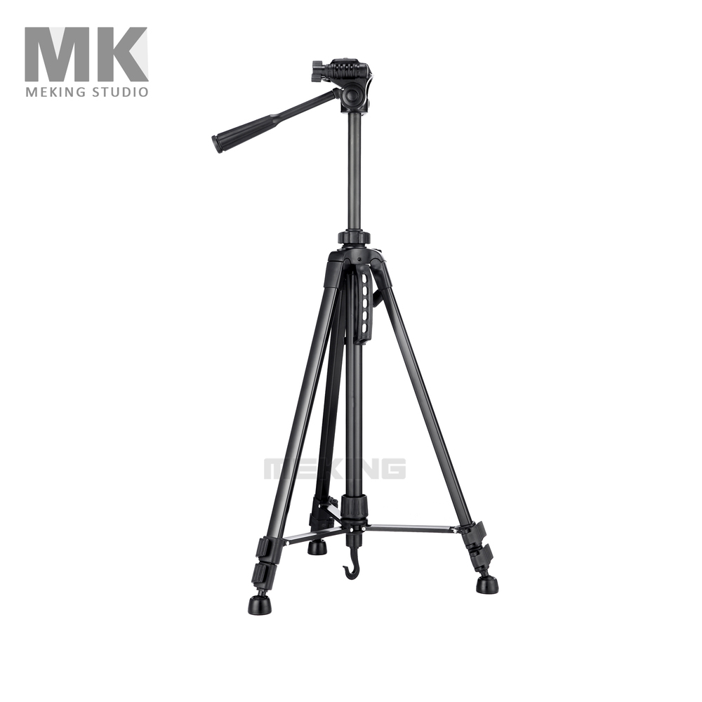 New 140cm/55in Professional Tripod stand for Camera Camcorder Black Aluminum stabilizer  Portable stand holder for camera new sys700 aluminum professional tripod