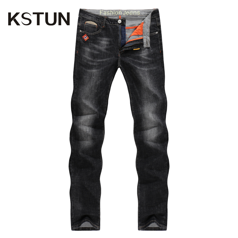 Men's   Jeans   2018 Mens Black   Jeans   Slim Fit Stretch Denim Casual Quality Pants Business Trousers for Man Boys   Jean   Homme size 38
