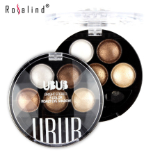 Rosalind Professional Eyes Makeup Pigment Eyeshadow 5 Colors Eye Shadow Palette Beauty Brand UBUB