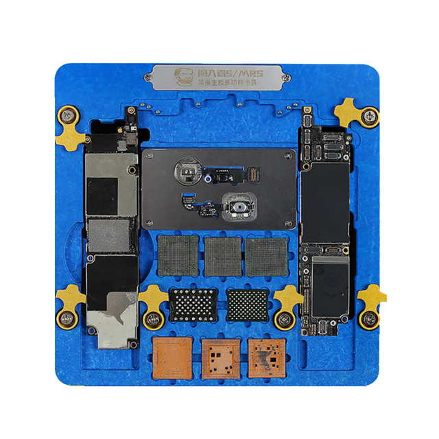 MECHANIC 5/MR5 Multifunctional Motherboard Fixture CPU NAND Fingerprint Repair PCB Holder For iPhone XR 8P 8 7P 7 6SP 6S 6 5S 5G