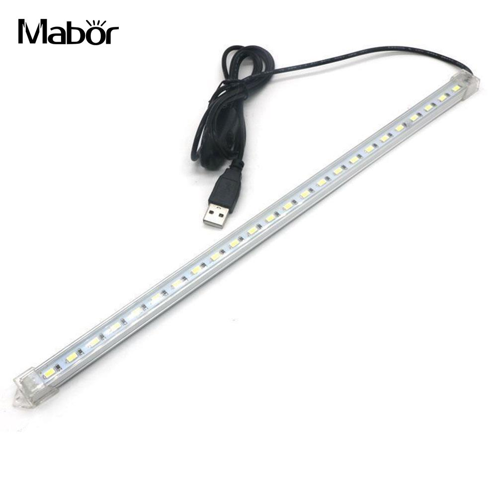 Portable LED Under Cabinet Light Closet Wall Lamp Rigid Strip Bar Kitchen Wardrobe Emergency Lighting LED Strip Camping