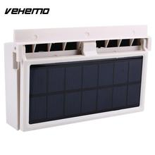 Vehemo Mini Solar Power Car Air Vent Fan Air Conditioner font b Battery b font Can
