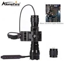 Тактический фонарь alonefire 501b cree xml t6 светодиодный светильник