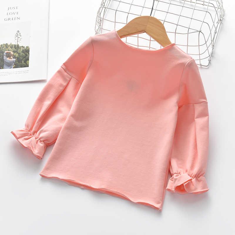3e5f6d9a735 ... Cute heart embroidery long sleeve girls shirt autumn cozy baby t shirt  toddler girls tops children
