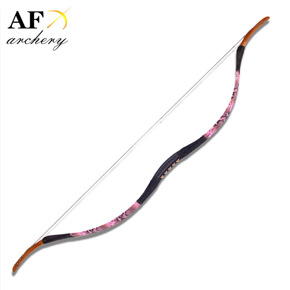 Handmade Archery Fiberglass Bow Longbow Recurve Bow20-100# Outdoor Hunting and Shooting стоимость